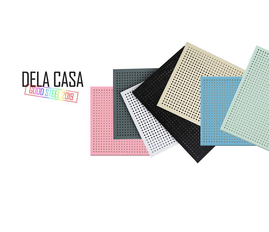 델라카사 슬림 철재 타공판 570x570 신규색상 - 델라카사, 39,500원, 수납/선반장, 선반장